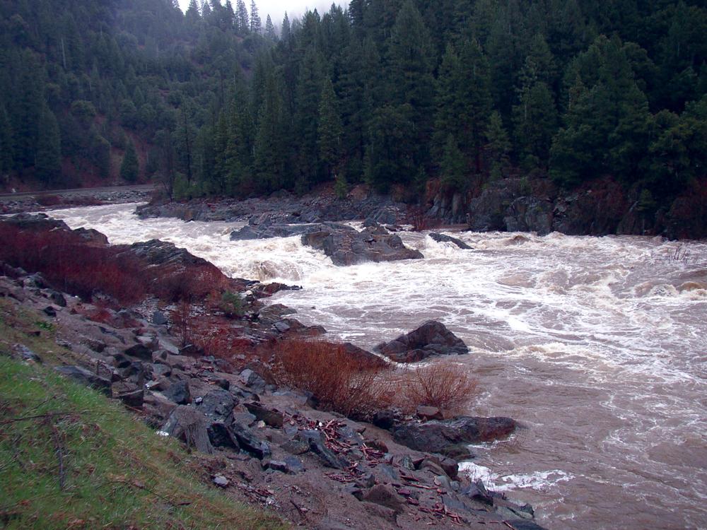 Spring runoff in Indian Creek